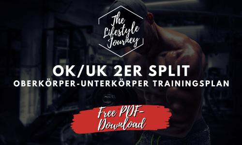 OK UK 2er Split - Trainingsplan