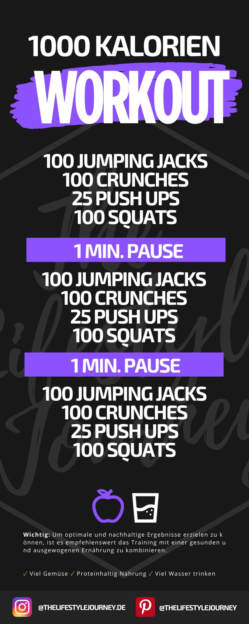 1000 Kalorien Workout