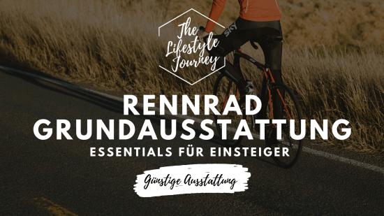 Rennrad Grundausstattung ▷ Essentials für Einsteiger